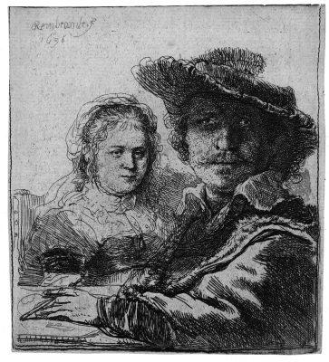 Autoritratto con Saskia