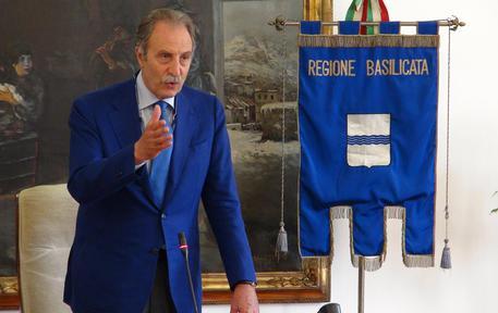 Il presidente della giunta regionale della Basilicata, Vito Bardi