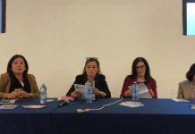 Sofia Vetere, Lisa Ficara, Katia Filice, Assessore Alessandra De Rose